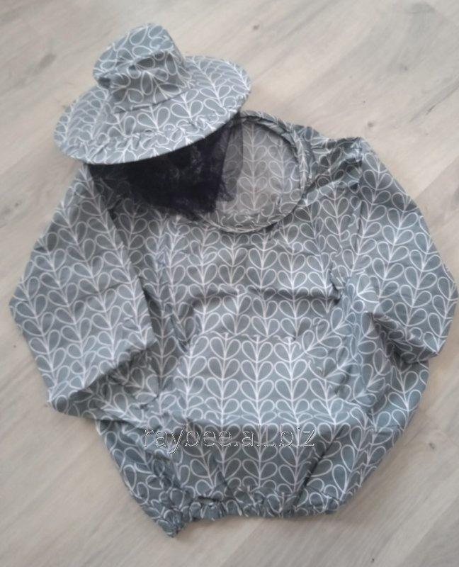 Купить Куртка пчеловода ситцевая на кольцах