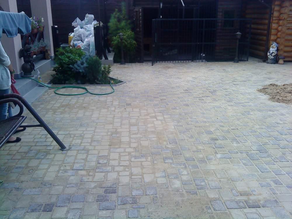 Купить Блоки тротуарные: тротуарная плитка Старый город, цена.