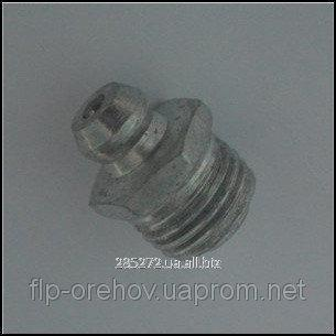 Купить Тавотница Ф10 (масленка) прямая (ГОСТ19853-74(DIN71412))