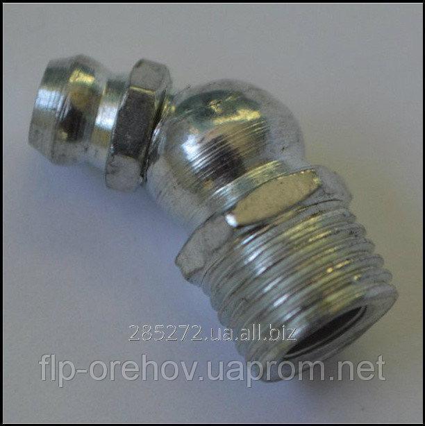 Купить Тавотница ф8 угол 45 (масленка) (ГОСТ19853-74(DIN71412))
