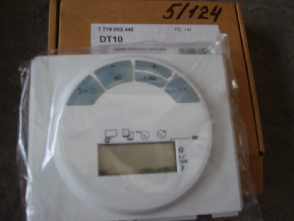Таймер контроля отопления и температуры воды в течении недели с дисплеем Juncers