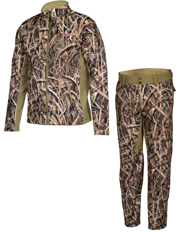 Suit for hunting demi-season Mossy Oak Softshell
