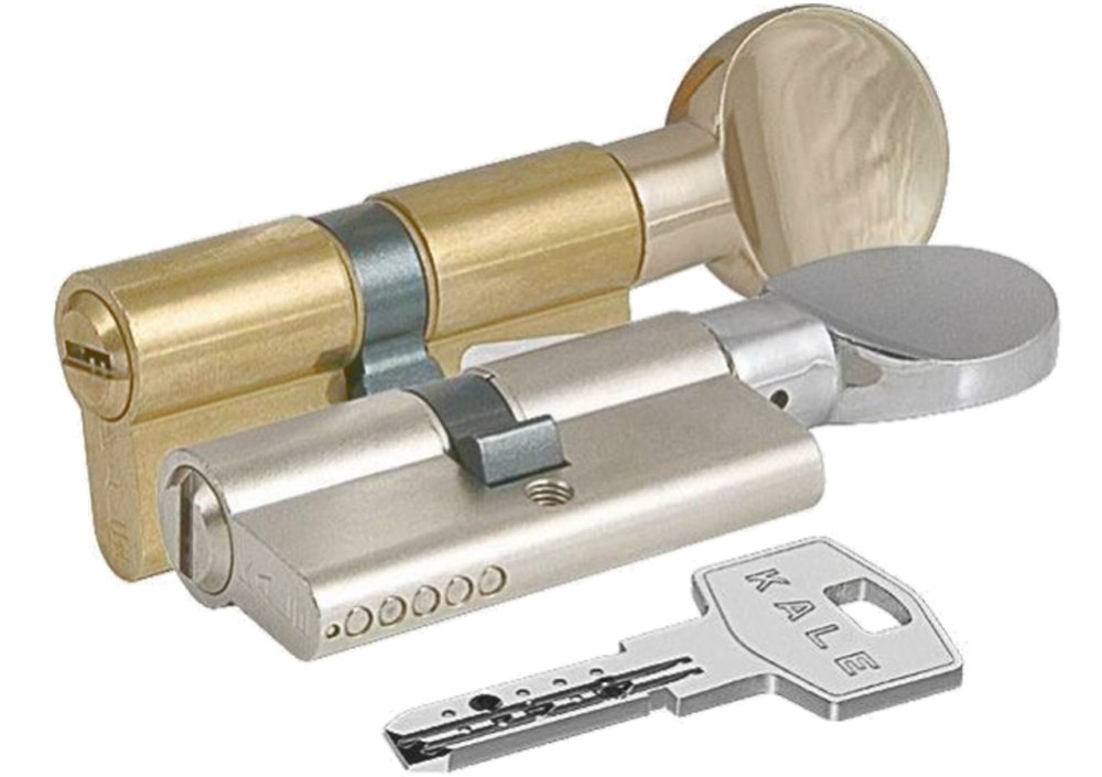 Цилиндровый механизм с вертушкой Kale 164 BM/68 (32х10х26) mm
