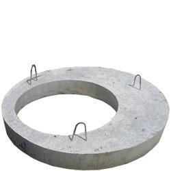 Купить Кришки бетонні армовані на каналізаційні кільця КС10-9 діаметром 120 см.