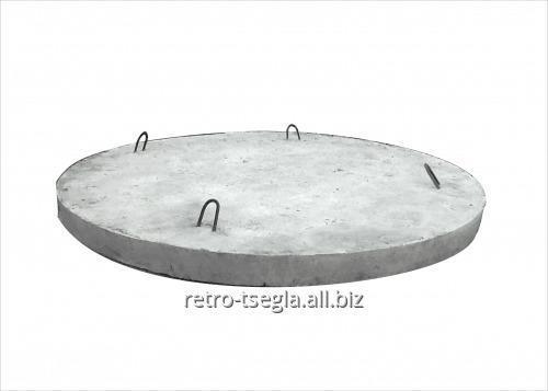 Купить Днища бетонні армовані під каналізаційні кільця КС10-9 діаметром 120 см.