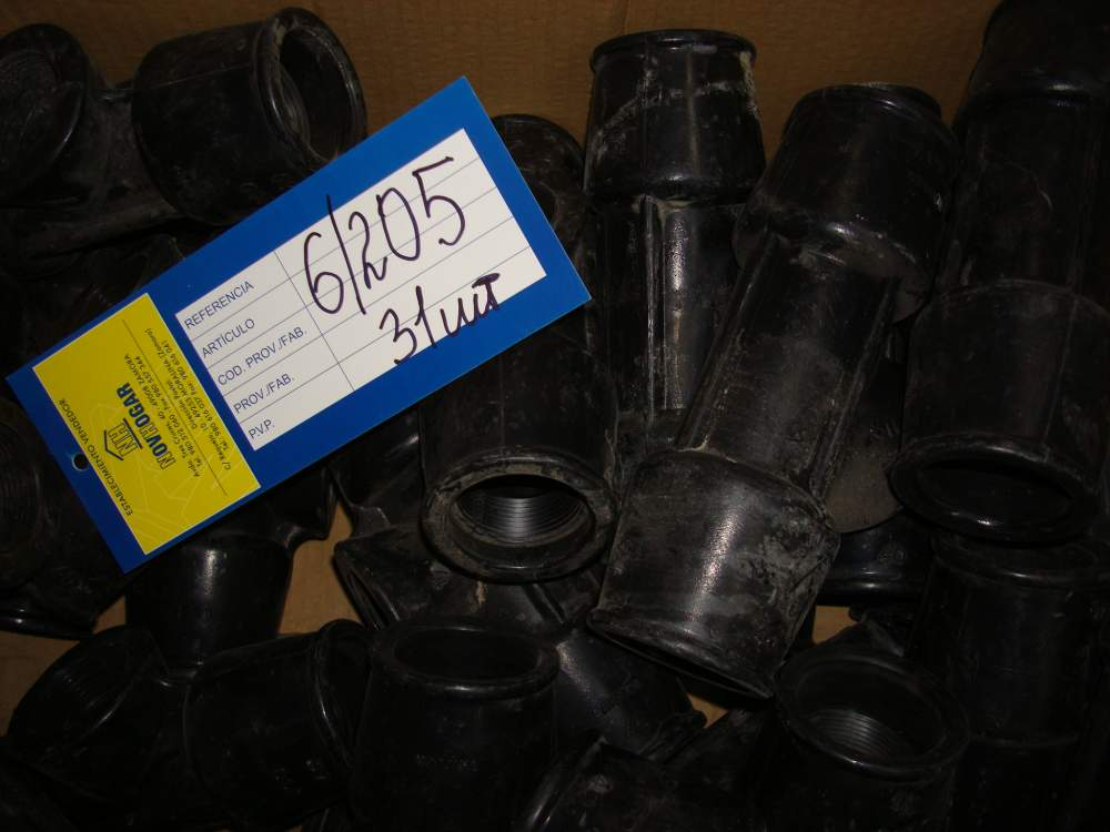 Тройник компрессионный ПНД труб внутренняя Saiplen