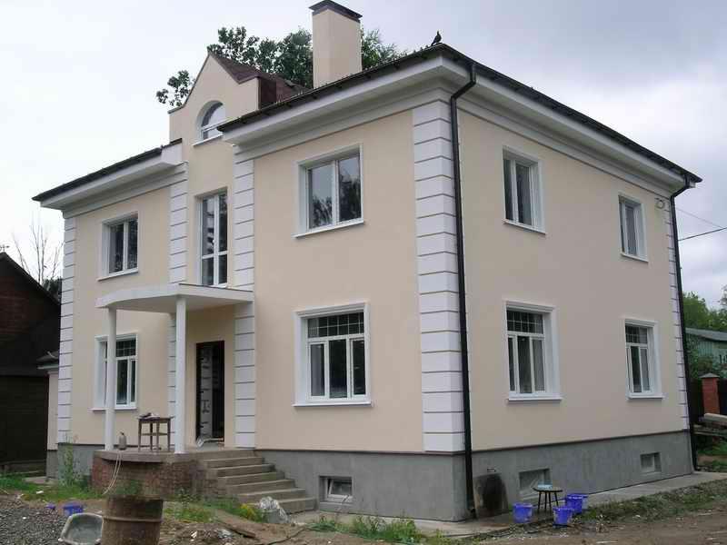 фасады домов под покраску фото
