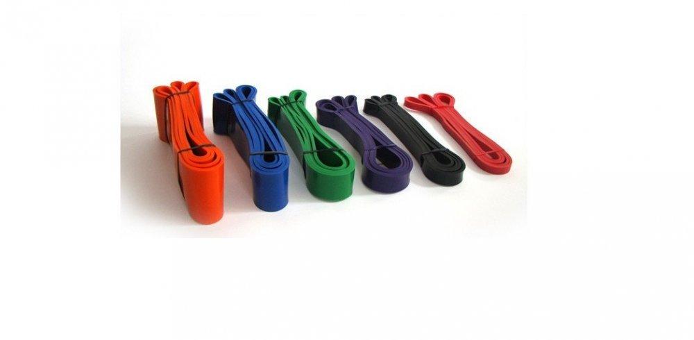 Купить Резинка для подтягиваний (лента сопротивления) 2080*....*4,5 мм Цвета разные