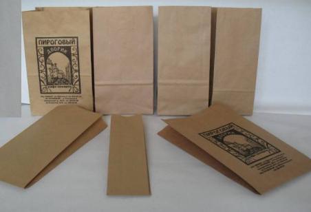 Купить Бумажные пакеты для пищевых продуктов: для хлебо-булочных изделий, для фаст-фуда, для монет, под бутылку с Днепропетровска
