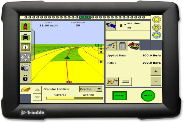 Система параллельного вождения Trimble FMX