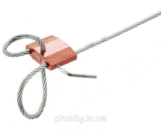 Запорно-пломбировочное устройство Трос 5, длина 500мм