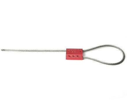 Запорно-пломбировочное устройство Трос 2,5, длиной 1200мм