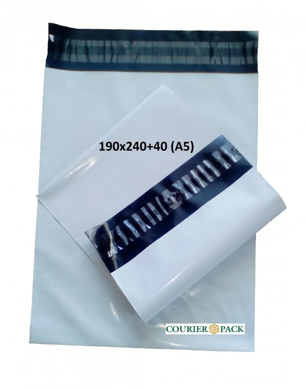 Курьерский пакет 190x240+40 (А5)
