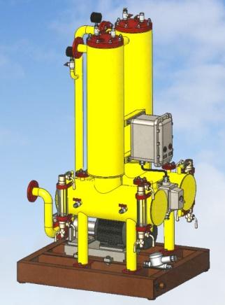 Фильтр-сепаратор для дизельного топлива
