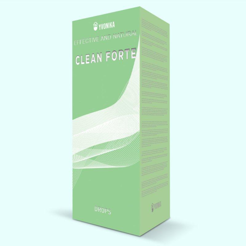 Средство для печени Clean Forte Клин Форте