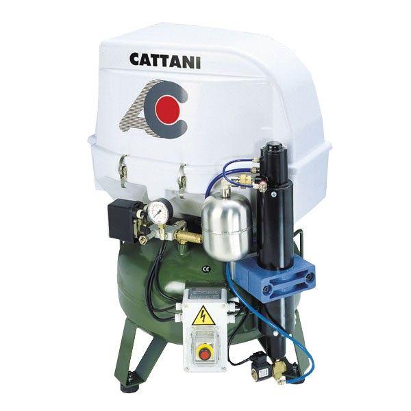 Стоматологический компрессор двухцилиндровый CATTANI (арт. 070255)