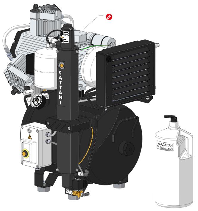 Стоматологический компрессор AC300 (арт. 013330)