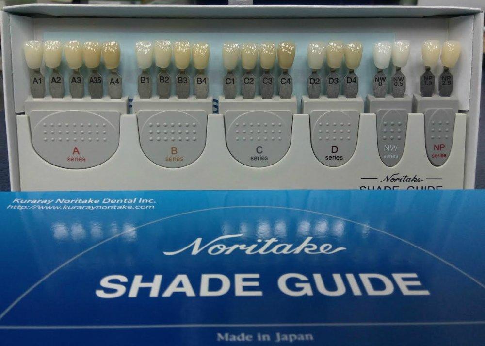 "Купить Шкала расцветок ""Shade Guide"""