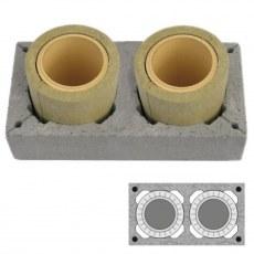 Купить Двухходовой керамический дымоход Schiedel UNI D140/140 L4