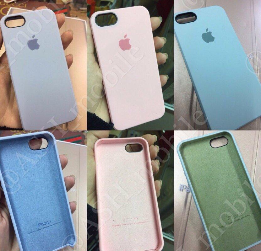 quality design 780de ccabc Covers on iPhone Original Silicone case for 7/7plus, 6/6s/6plus/5s/5se/5