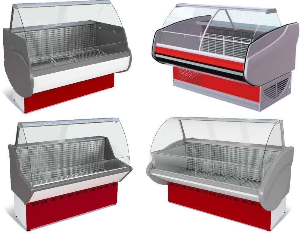 Купить Холодильні вітрини COLD, IGLOO, LINDE, РОСС