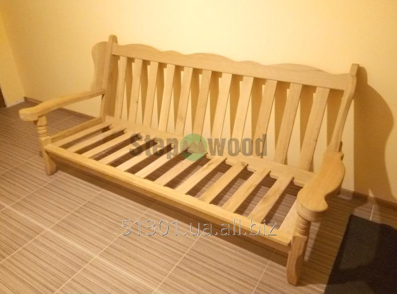 Диван + 2 кресла з натуральної деревини  Oak