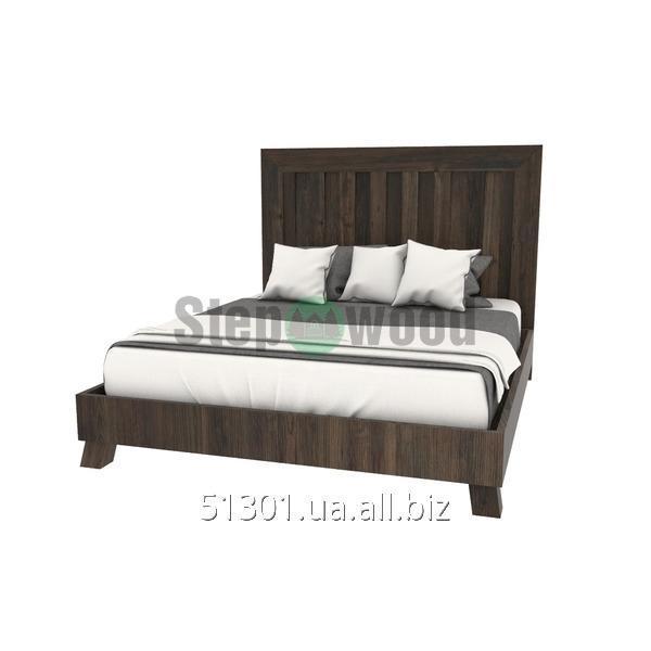 Купить Кровать очень прочная большая и удобная Скандинавская-дуб, ясень, сосна 1800х2000