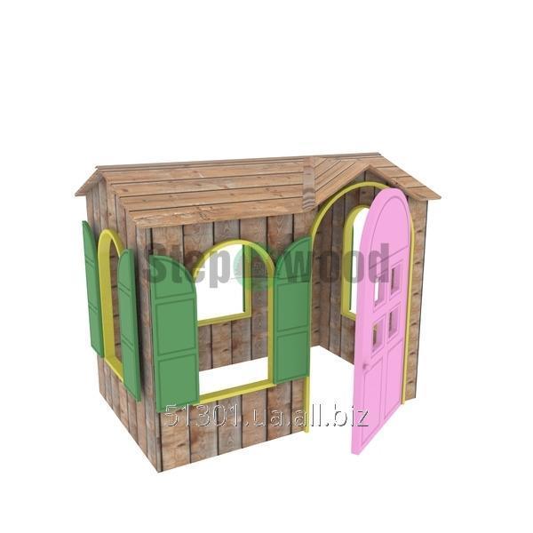 Купить Домик для детей из натуральных материалов Долхаус-Уютный красивый и удобный