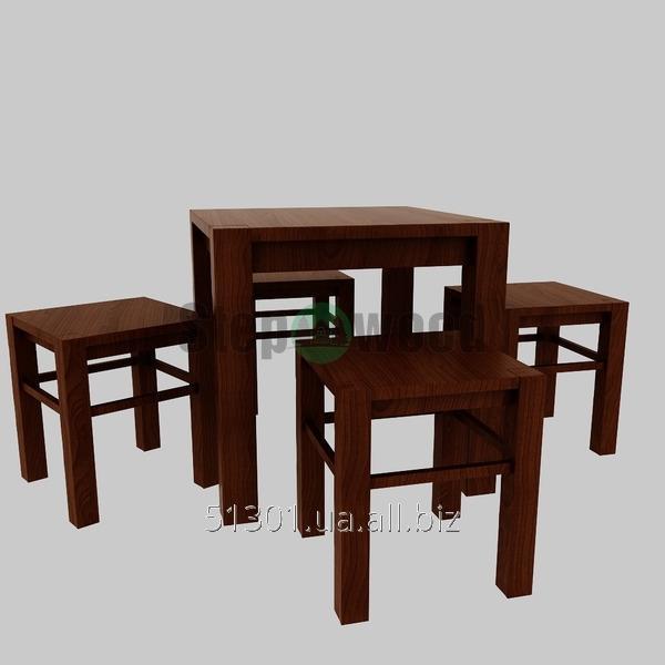 Стол со стульями Gaube
