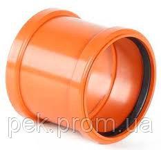 Купить Муфта соединительная ПВХ 110 мм
