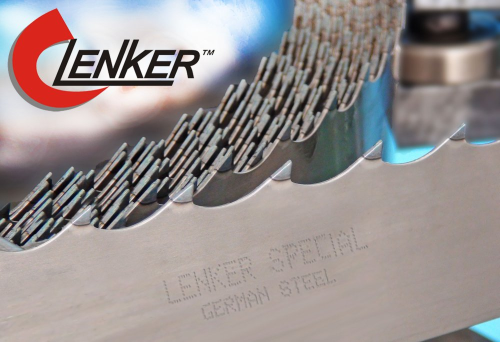 Tape saw on a tree of Lenker Premium Special N