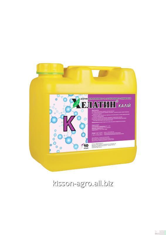 Buy HELATIN® Potassium 10L; microfertilizer; Growth stimulant; Trace elements; Chelate fertilizer; Water-soluble fertilizer;