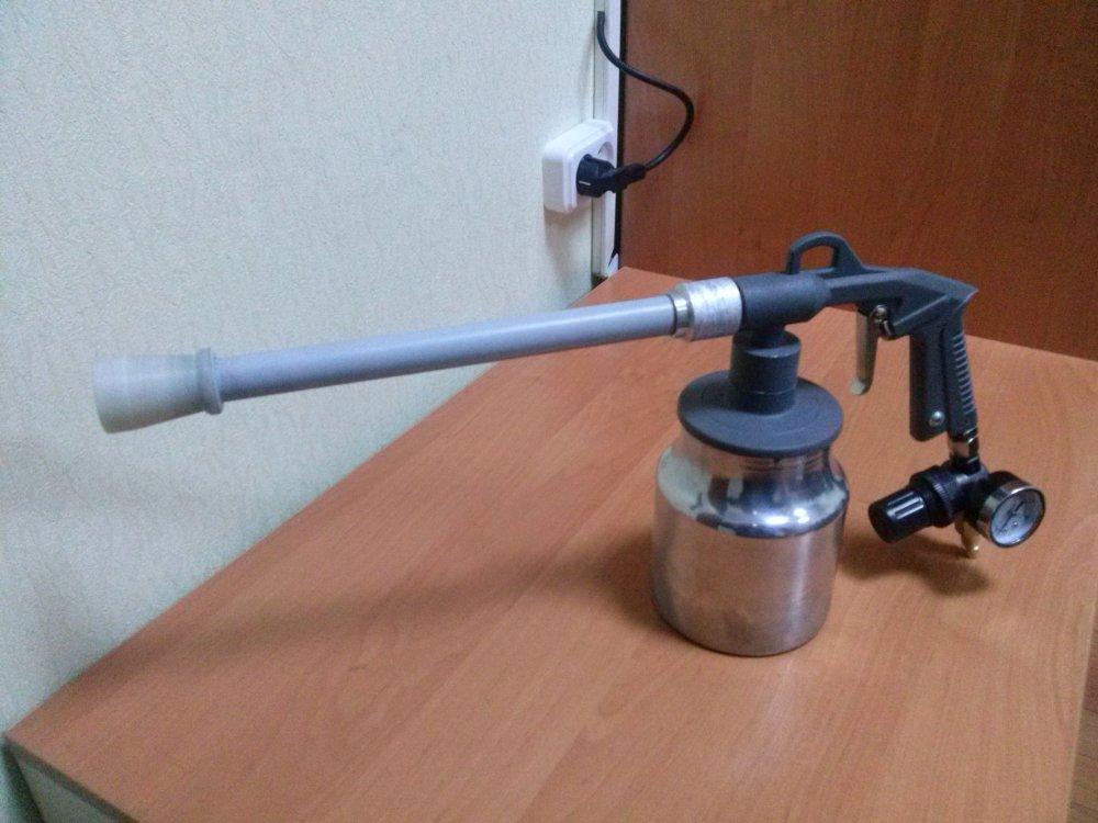 Трибостатический распылитель порошковой краски ТСПР-1У.