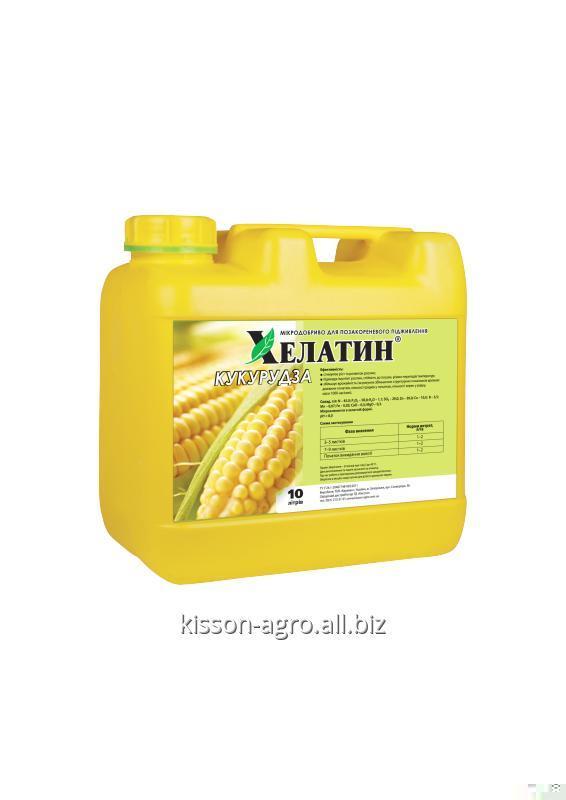 Многокомпонентное Хелатин Кукуруза 10л