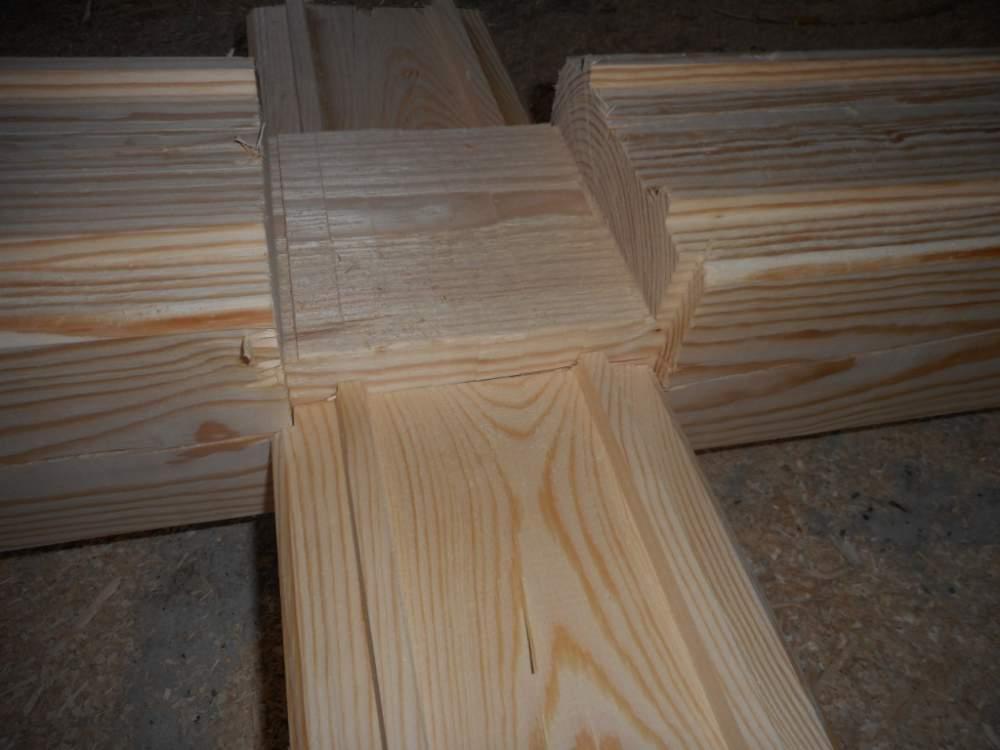Купить Массивный брус деревянный