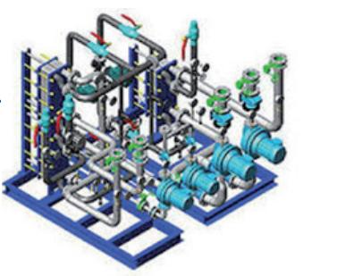 Сепараторы, трёхфазные сепараторы, арматурные блоки к теплообменникам