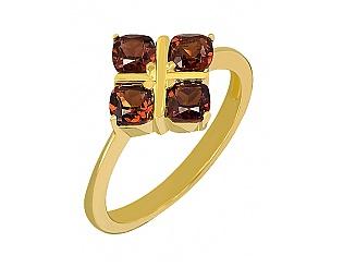 Купить Золотое кольцо 585 пробы с гранатами ,Артикул 01-14719224 ,Модель 3-к-1203/531