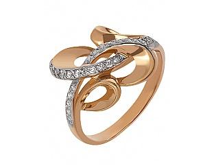 Купить Золотое кольцо 585 пробы с фианитами ,Артикул 01-13907891 ,Модель м-01-13907891