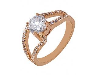 Купить Золотое кольцо 585 пробы с фианитами ,Артикул 01-13932547 ,Модель м-01-13932547