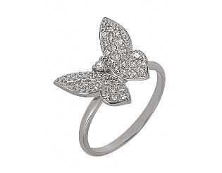 Купить Золотое кольцо 585 пробы с фианитами ,Артикул 01-13935744 ,Модель м-01-13935744