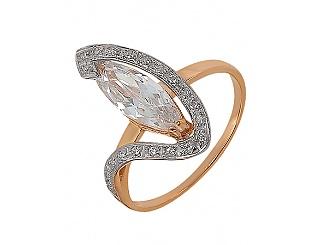 Купить Золотое кольцо 585 пробы с фианитами ,Артикул 01-14033991 ,Модель м-01-14033991