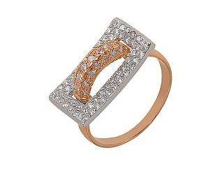 Купить Золотое кольцо 585 пробы с фианитами ,Артикул 01-14035867 ,Модель м-01-14035867