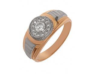 Купить Золотой перстень 585 пробы с фианитами ,Артикул 01-13294926 ,Модель м-01-13294926