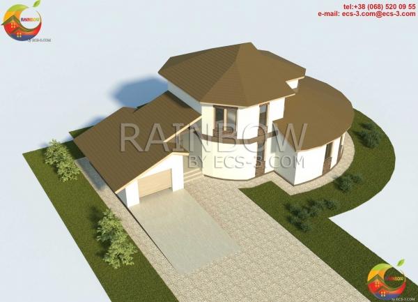 Частный Дом 197,4 м2