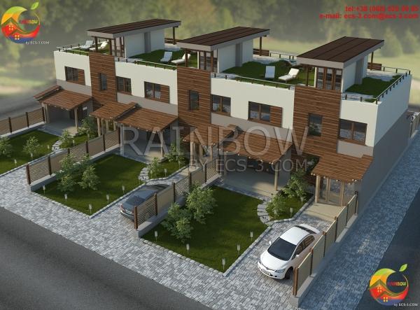 Многоквартирный Жилой Дом на 6 семей  480 м2
