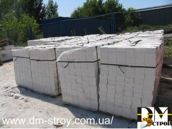 Buy The brick is silicate white facing