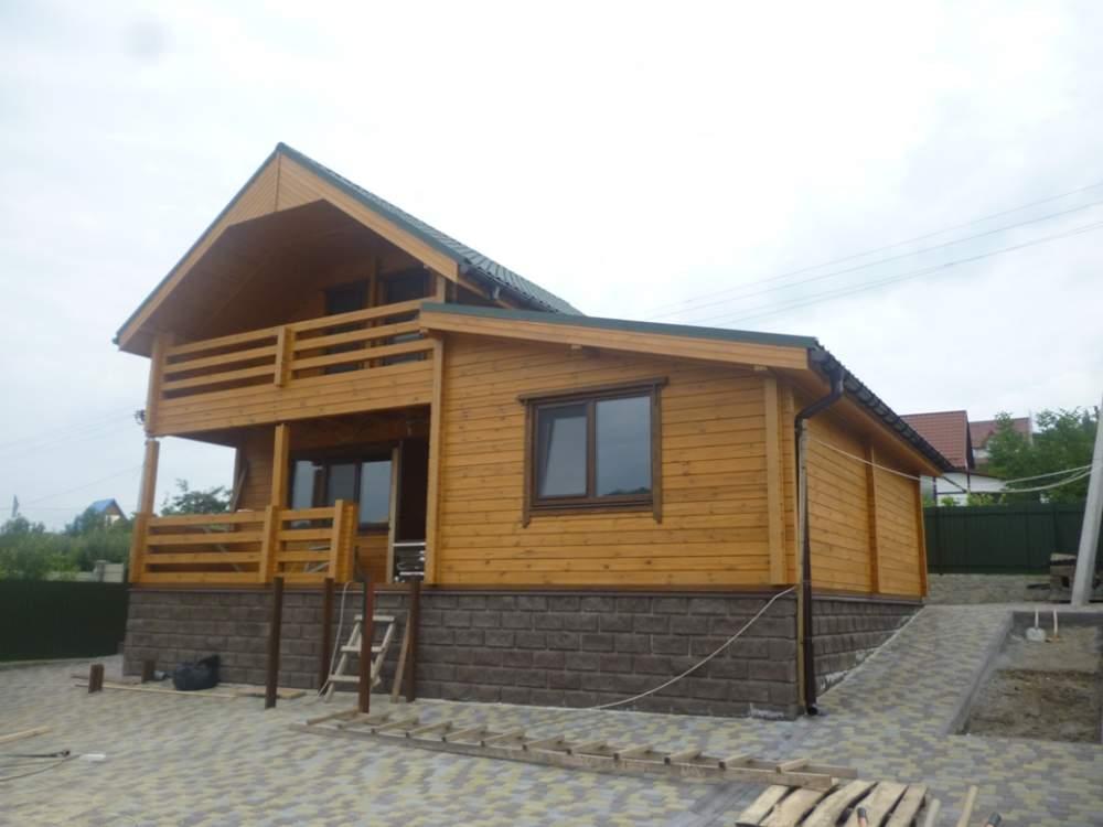 Купить Строительство домов из бруса