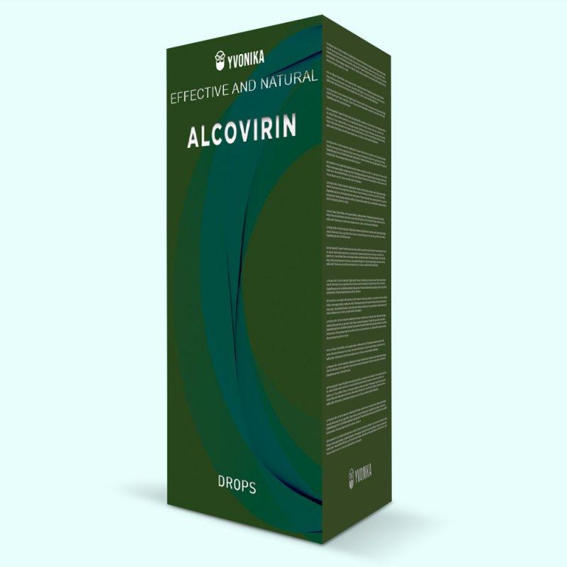 Капли от алкоголизма AlcoVirin АлкоВирин