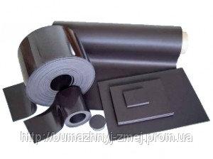 Магнитный винил, без покрытия, м.пог. - 1мх620х0,4мм