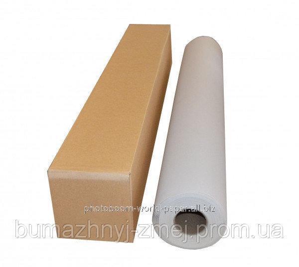 Холст синтетический с глянцевым покрытием для струйных принтеров 240 г/м2, 1067мм х 30 метров, код WP-600CVG-1070